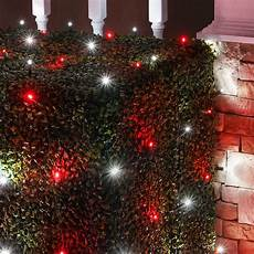 Red And White Large Christmas Lights Led Net Lights 5mm 4 X 6 Red Cool White Led Net