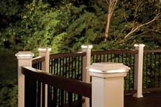 Trex Deck Post Solar Lights Outdoor Led Deck Lighting Products Trex