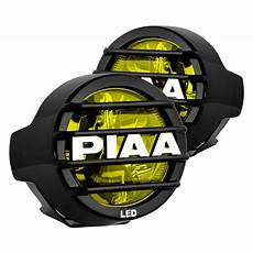 Piaa Driving Lights Piaa 174 22 05370 Lp530 3 5 Quot Round Ion Yellow Led Fog Lights
