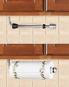 cabinet stainless steel paper towel holder w stopper
