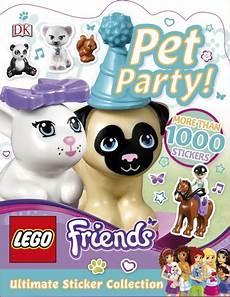 lego friends pet ultimate sticker collection dk uk