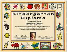 Preschool Graduation Certificates Kindergarten Graduation Certificate Of 1 Certificate Pre