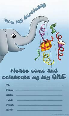 Baby Birthday Invitation Templates Adorable Baby Birthday Invitations Gallery Free And Printable
