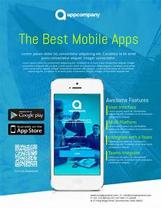 Best App To Make Flyers App Promo Flyer Template Postermywall