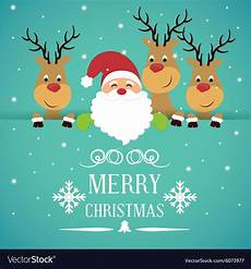 Merry Christmas Greeting Card Design Merry Christmas Card Design Royalty Free Vector Image