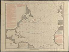Pilot Charts Atlantic Pilot Chart Of The North Atlantic Ocean Digital Commonwealth