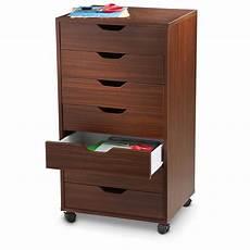 winsome halifax 7 drawer cabinet black walnut finish