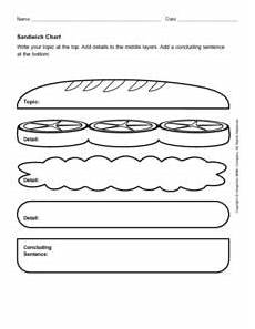 Sandwich Chart Sandwich Chart Worksheet For 5th 9th Grade Lesson Planet