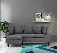 abakus direct napoli corner sofa grey