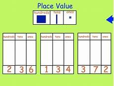 Interactive Place Value Chart Smartboard Smartboard Place Value Activities With Printable