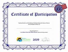 Free Certificates Of Participation Indian Cricket