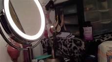 Conair Led Natural Light Vanity Mirror Conair Light Up Vanity Mirror Unboxing Youtube