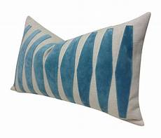Sofa Pillows Decorative Sets Brown Png Image by 100 Stitched Applique Custom Made Pillow With Aqua