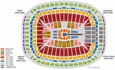 Wwe Dallas Seating Chart Wwe Wrestlemania 25 Notes Seating Chart Ticket Prices