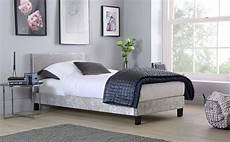 berlin silver crushed velvet single bed only 163 119 99
