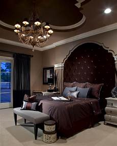 Master Bedroom Ideas Traditional Traditional Master Bedroom With Dramatic Upholstered