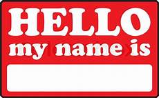 Design My Name Online Free Blank Name Tags That Say Hello My Name Stock Vector