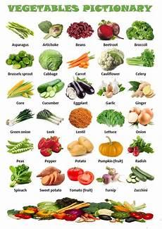 Vegetable Picture Chart Vegetables Pictionary Worksheet Free Esl Printable