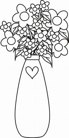 Ausmalbilder Blumenvase Blumenvasen 10 Ausmalbilder F 252 R Kinder Malvorlagen Zum