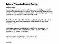 Requesting For Promotion 5 Job Promotion Request Letters Find Word Letters