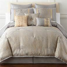 Jcpenney Bedroom Sets Home Expressions Carlisle 7 Pc Comforter Set Jcpenney
