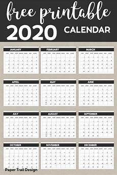 2020 Mini Calendar Printable 2020 Free Monthly Calendar Template Monthly Calendar