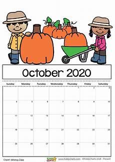November 2020 Calendar For Kids Free Printable 2020 Calendar For Kids Including An