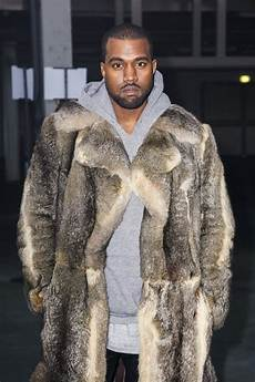 kanye west coats kanye west attends s givenchy fashion show in a big