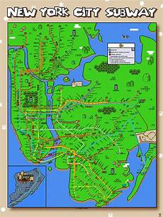 Malvorlagen New York Version And Now An 8 Bit Mario Version Of The New York City