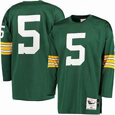 Mitchell And Ness Throwback Jersey Size Chart Mitchell Amp Ness Paul Hornung Green Bay Packers Green 1961