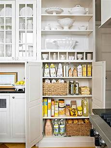 20 variants of white kitchen pantry cabinets interior