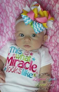 Miracle Baby Designs This Is What A Miracle Looks Like Embroidered Bodysuit Or