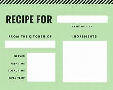 Online Recipe Book Creator Free Online Recipe Card Maker Design A Custom Recipe Card