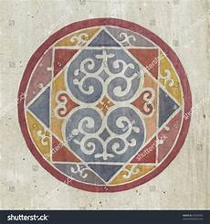 fresco pattern painted fresco pattern monastery zica serbia