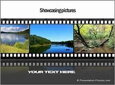 Filmstrip Powerpoint Template Powerpoint Timeline Template Using Filmstrip