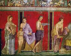 pompeya arte antiguo historia de la pintura y historia