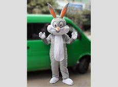 High Quality Bugs Bunny Easter Rabbit Mascot Costume
