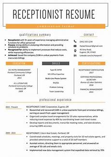 Sample Combination Resume Combination Resume Template Examples Amp Writing Guide