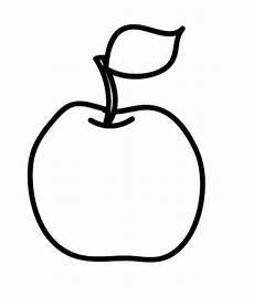 Ausmalbilder Apfel Und Birne Kostenlose Malvorlage Obst Und Gem 252 Se Apfel Zum Ausmalen