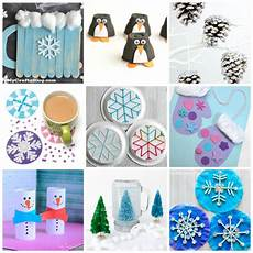 easy winter crafts that anyone can make happiness