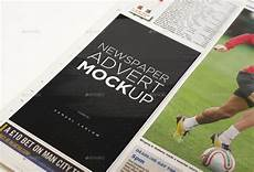 Free Advertising Papers 6 Newspaper Advert Mockups By Samladlow Graphicriver