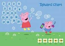 Peppa Pig Sticker Reward Chart Peppa Pig Reward Chart Ebay