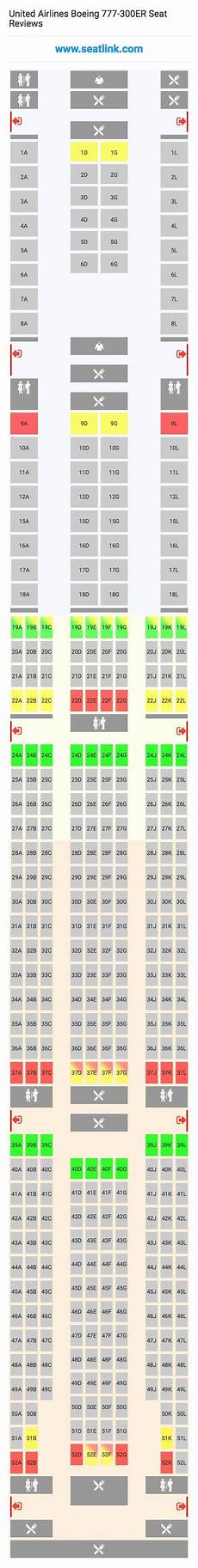 United Airlines Seating Chart 777 International United Airlines Boeing 777 300er 77w Seat Map Boeing