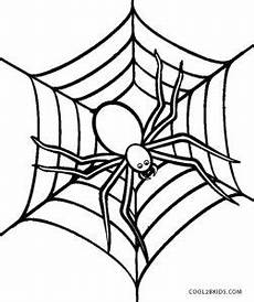 free printable spider coloring pages for