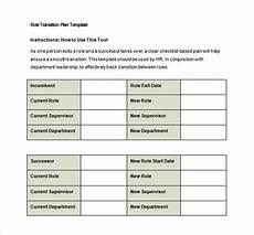 Job Transition Template 9 Transition Plan Templates Free Word Pdf Documents