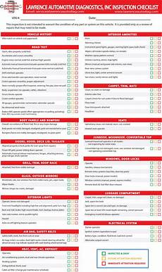Used Car Inspection Checklist Printable Pre Owned Vehicle Inspection In Ks