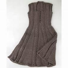 icon dress knitting kit by purl alpaca designs