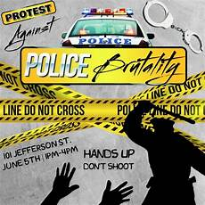 Protest Flyer Template Police Brutality Protest Flyer Template Postermywall
