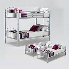 Panana 2 X 3ft Single Metal Bunk Bed 2 by Panana Bunk Bed Sleeper 3ft Metal Single Bed Frame