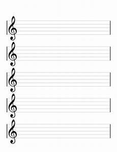 Music Staff Sheet Printable Blank Music Staff Paper So You Don T Have To
